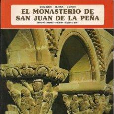 Libros de segunda mano: DOMINGO BUESA CONDE : EL MONASTERIO DE SAN JUAN DE LA PEÑA. (ED. EVEREST, 1978). Lote 39569027