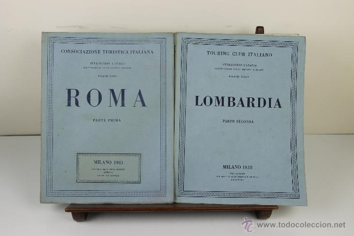 3988- TOURING CLUB ITALIANO. VV.AA. IMP. BERGAMO. 1937/1949. 14 VOL. (Libros de Segunda Mano - Geografía y Viajes)