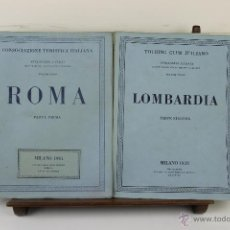 Libros de segunda mano: 3988- TOURING CLUB ITALIANO. VV.AA. IMP. BERGAMO. 1937/1949. 14 VOL. . Lote 39818209