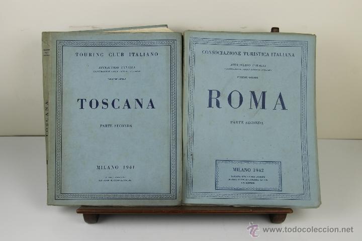 Libros de segunda mano: 3988- TOURING CLUB ITALIANO. VV.AA. IMP. BERGAMO. 1937/1949. 14 VOL. - Foto 2 - 39818209