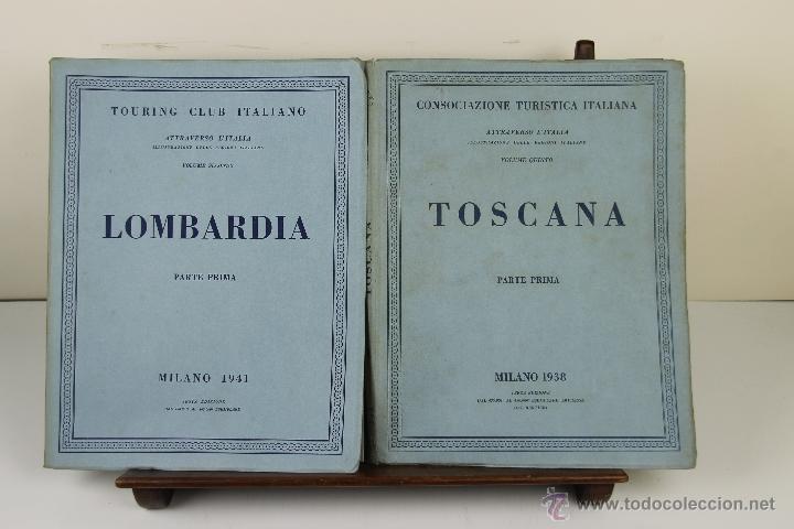 Libros de segunda mano: 3988- TOURING CLUB ITALIANO. VV.AA. IMP. BERGAMO. 1937/1949. 14 VOL. - Foto 3 - 39818209
