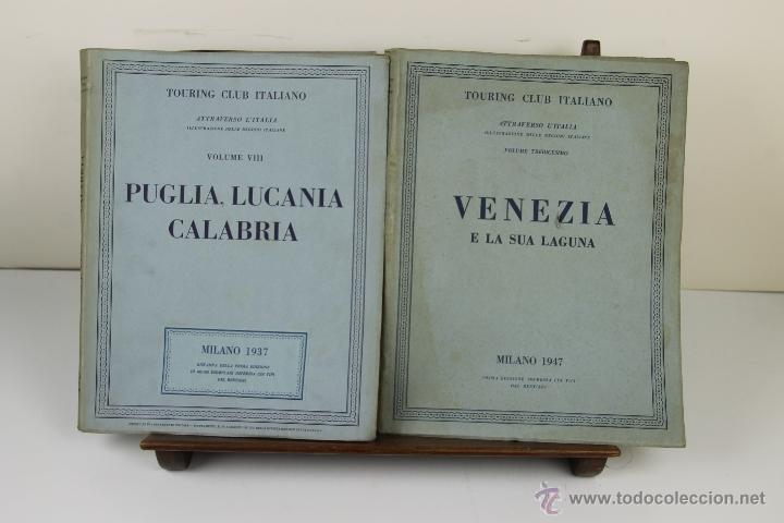 Libros de segunda mano: 3988- TOURING CLUB ITALIANO. VV.AA. IMP. BERGAMO. 1937/1949. 14 VOL. - Foto 8 - 39818209