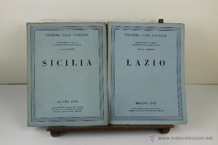 Libros de segunda mano: 3988- TOURING CLUB ITALIANO. VV.AA. IMP. BERGAMO. 1937/1949. 14 VOL. - Foto 11 - 39818209