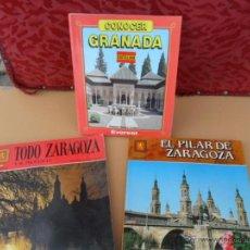 Libros de segunda mano: ZARAGOZA Y GRANADA. Lote 40598924