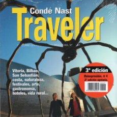 Libros de segunda mano: CONDE NAST TRAVELER GUIA N. 61 - EUSKADI: UN PASO POR DELANTE (PRECINTADO). Lote 139865720