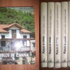 Libros de segunda mano: PUEBLOS DE ESPAÑA. Lote 41287937