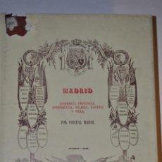 Libros de segunda mano: DICCIONARIO GEOGRÁFICO-ESTADÍSTICO-HISTÓRICO DE ESPAÑA. PASCUAL MADOZ RM64285. Lote 41316408