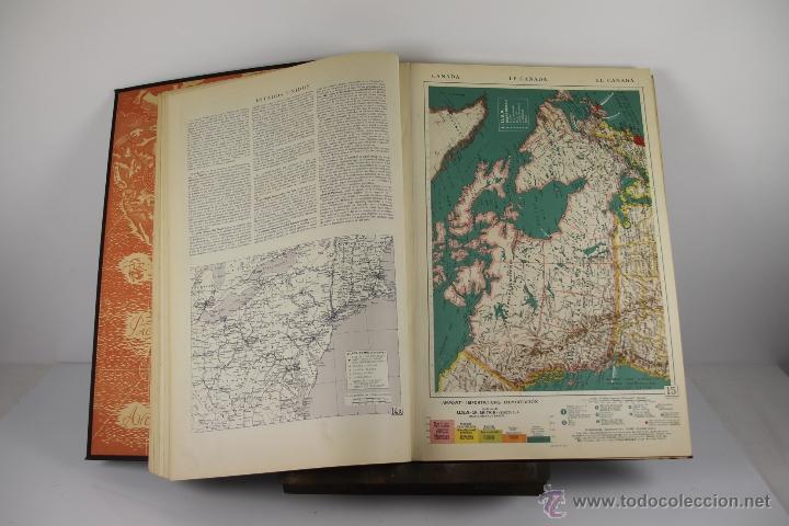Libros de segunda mano: 4416- ATLAS INTERNACIONAL LAROUSSE. JEAN CHARDONNET. EDIT. LAROUSSE. 1957. - Foto 4 - 41335620