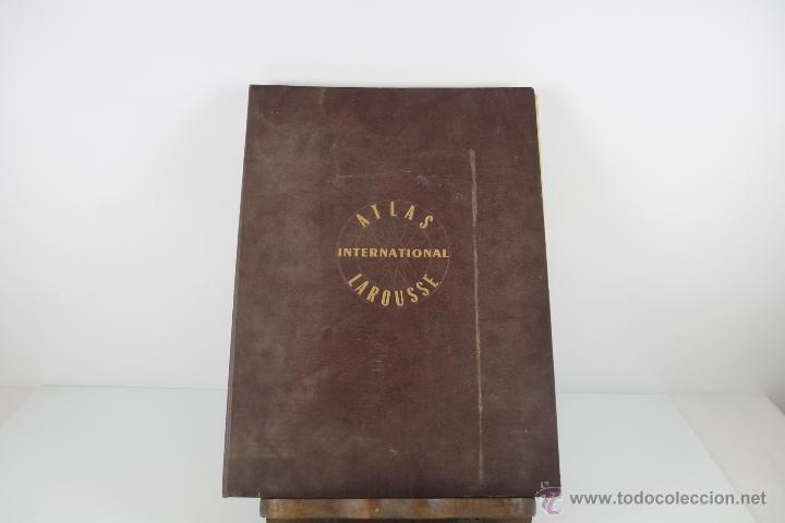 Libros de segunda mano: 4416- ATLAS INTERNACIONAL LAROUSSE. JEAN CHARDONNET. EDIT. LAROUSSE. 1957. - Foto 6 - 41335620
