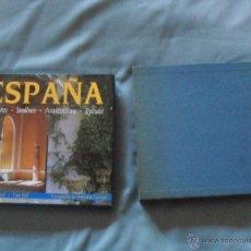 Libros de segunda mano: ESPAÑA - INTERIORES - JARDINES - ARQUITECTURA - PAISAJE - EDITORIAL NEREZ 1992. Lote 41629993