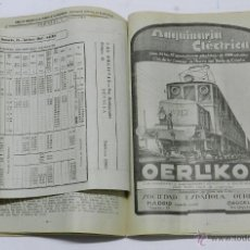 Libros de segunda mano: GUÍA GENERAL DE FERROCARRILES, CON TARIFAS Y HORARIOS A 2 DE DICIEMBRE DE 1944, LE FALTA LA PORTADA . Lote 42472780