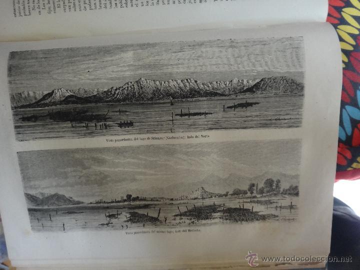 Libros de segunda mano: LIBRO, LA VUELTA AL MUNDO , 6 TOMOS EN 3 VOLUMENES, 1869 1872, GRABADOS, GASPAR Y ROIG, ORIGINAL - Foto 3 - 63560523