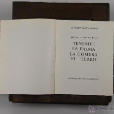 Libros de segunda mano: D-303. GUIAS DE ESPAÑA. TENERIFE. ALFREDO REYES DARIAS. EDIT. DESTINO. 1969.. Lote 42584481