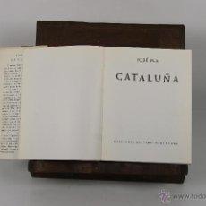Libros de segunda mano: D-304. GUIAS DE ESPAÑA. CATALUÑA. JOSE PLA. EDIT. DESTINO. 1966. . Lote 42584575
