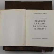 Libros de segunda mano: D-305. GUIAS DE ESPAÑA. TENERIFE. ALFREDO REYES. EDIT. DESTINO. 1969.. Lote 42584925