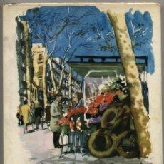 Libros de segunda mano: BARCELONA. CAMILO JOSÉ CELA. ILUSTR. DE FEDERICO LLOVERAS. ED. ALFAGUARA. MADRID. 1966 (1ª ED.). Lote 42731901