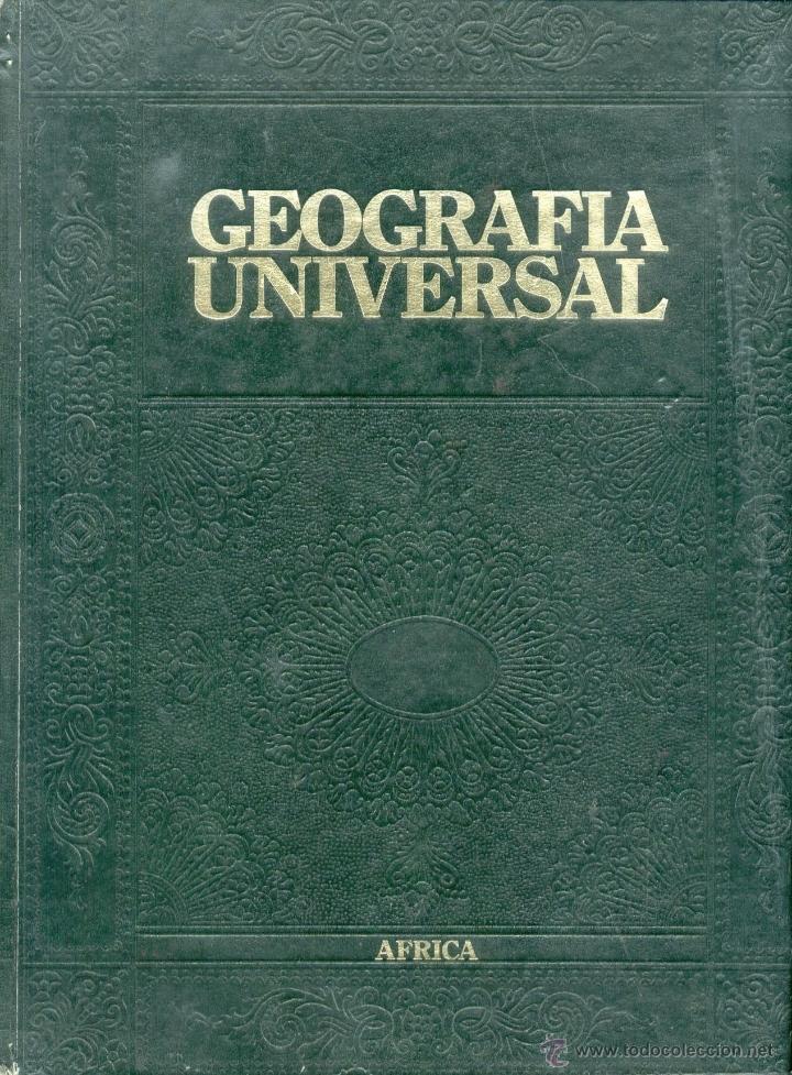 GEOGRAFÍA UNIVERSAL. ÁFRICA. (Libros de Segunda Mano - Geografía y Viajes)