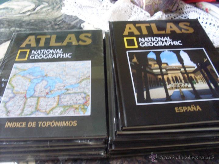 ATLAS NATIONAL GEOGRAPHIC. COMPLETA EN 14 TOMOS. PRECINTADOS (EN1B) (Libros de Segunda Mano - Geografía y Viajes)