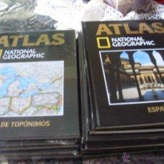 Libros de segunda mano: ATLAS NATIONAL GEOGRAPHIC. COMPLETA EN 14 TOMOS. PRECINTADOS (EN1B). Lote 42945000