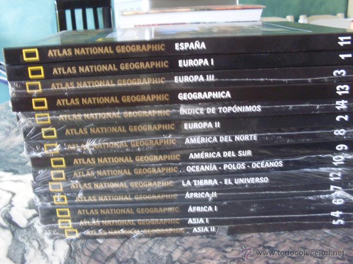 Libros de segunda mano: ATLAS NATIONAL GEOGRAPHIC. COMPLETA EN 14 TOMOS. PRECINTADOS (EN1B) - Foto 2 - 42945000