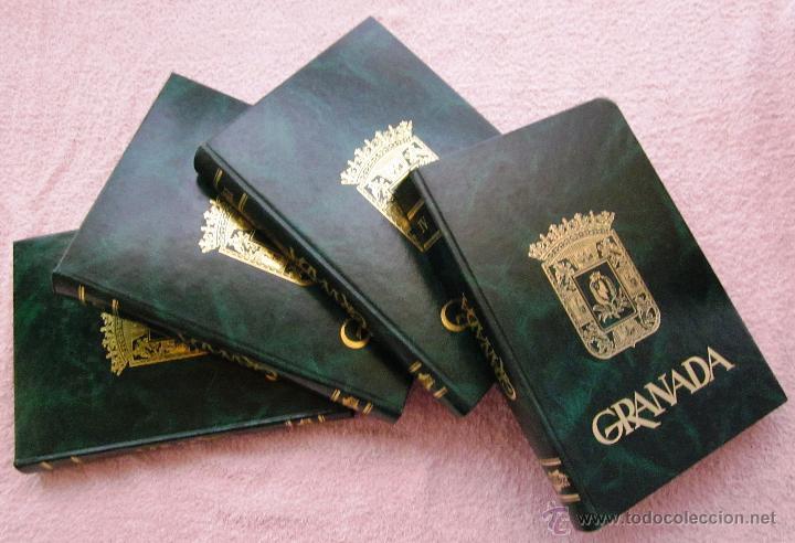 GRANADA- 4 TOMOS- 1981-82- MUY BUEN ESTADO- (Libros de Segunda Mano - Geografía y Viajes)