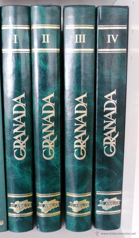 Libros de segunda mano: GRANADA- 4 tomos- 1981-82- Muy buen estado- - Foto 2 - 43041812