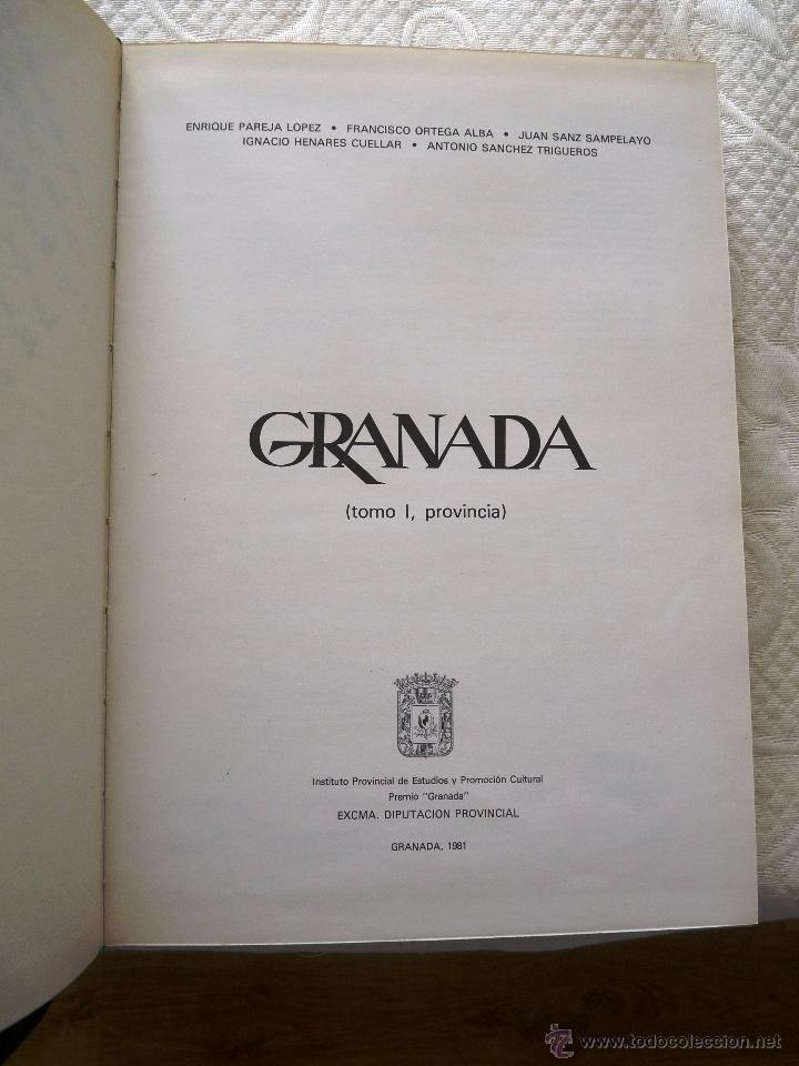 Libros de segunda mano: GRANADA- 4 tomos- 1981-82- Muy buen estado- - Foto 4 - 43041812
