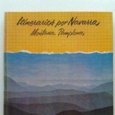 Libros de segunda mano: ITINERARIOS POR NAVARRA MONTAÑA. PAMPLONA - ALFREDO FLORISTAN Y OTROS - CAJA DE AHORROS DE NAVARRA. Lote 43189295