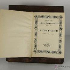 Libros de segunda mano: D-498. VISIONS BARCELONINES. FRANCESC CURET. EDIT, DALMAU 1952. 6 VOL. . Lote 43341505