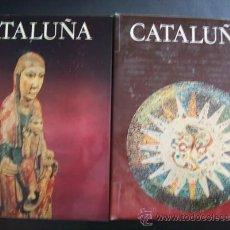 Libros de segunda mano: TIERRAS DE ESPAÑA. CATALUÑA (2 TOMOS) NOGUER-FUNDACIÓN JUAN MARCH (VITORIA) 1974. Lote 43415406