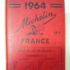 Libros de segunda mano: L-1498. .GUIA MICHELIN FRANCE 1964. 1001 PAGINAS.. Lote 43787985