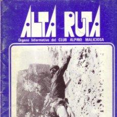Libros de segunda mano: ALTA RUTA NÚMERO 11 Y 12 MARZO 1980. Lote 43815479