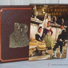 Libros de segunda mano: TRAJES Y BAILES DE ESPAÑA.. Lote 44020794