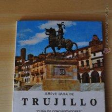 Libros de segunda mano: BREVE GUIA DE TRUJILLO JUAN MORENO LAZARO. Lote 44045203