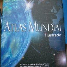 Libros de segunda mano: ATLAS MUNDIAL ILUSTRADO. UN RETRATO COMPLETO DEL PLANETA TIERRA. RM65896. . Lote 46132975