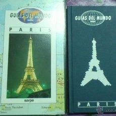 Libros de segunda mano: GUIAS DEL MUNDO - COLECCIÓN SARPE - PARIS (JUNTO CON VIDEO VHS). Lote 64500630