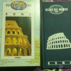 Libros de segunda mano: GUIAS DEL MUNDO - COLECCIÓN SARPE - ROMA (JUNTO CON VIDEO VHS). Lote 44196223