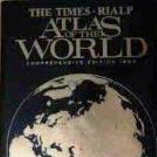 Libros de segunda mano: THE TIMES RIALP ATLAS OF THE WORLD.AÑO DE EDICIÓN 1993( EN INGLES). Lote 44592410