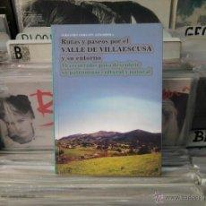 Livros em segunda mão: RUTAS Y PASEOS POR EL VALLE DE VILLAESCUSA Y SU ENTORNO, FERNANDO OBREGON. Lote 44722044