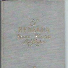 Libros de segunda mano: BENELUX,BÉLGICA HOLANDA LUXEMBURGO, DORÉ OGRIZEK, EL MUNDO EN COLOR, CASTILLA MADRID 1952, ILUSTRADO. Lote 192862565