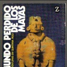 Libros de segunda mano: EL MUNDO PERDIDO DE LOS MAYAS. MICHAEL PEISSEL. EDITORIAL JUVENTUD 1981.. Lote 45337276