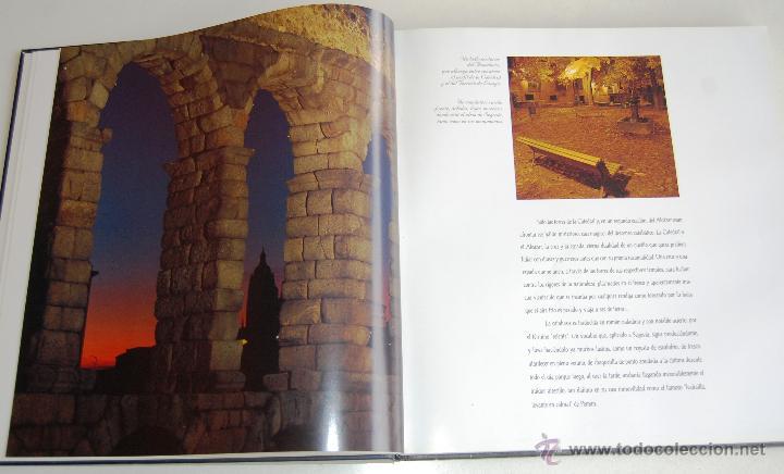 Libros de segunda mano: CIUDADES PATRIMONIO DE LA HUMANIDAD DE ESPAÑA (UNESCO), SEGOVIA. - Foto 4 - 45347672