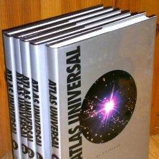 Libros de segunda mano: GRAN ATLAS UNIVERSAL 5T DE SALVAT POR EL INSTITUTO GEOGRÁFICO DE AGOSTINI (NOVARA), BARCELONA 1993. Lote 45758790