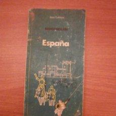 Libros de segunda mano: ESPAÑA GUIA TURISTICA MICHELIN 1987. Lote 45946395