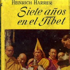 Libros de segunda mano: HERRER : SIETE AÑOS EN EL TIBET (JUVENTUD, 1953) PRIMERA EDICIÓN. Lote 199291993