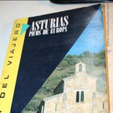 Libros de segunda mano: GUIA DEL VIAJERO ASTURIAS PICOS DE EUROPA ENRIC BALASCH SUSAETA EDICIONES 1991 144 PAGINAS. Lote 46585422