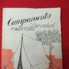 Libros de segunda mano - CAMPAMENTO CERVANTES MAGISTERIO - 46736121