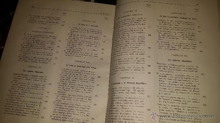 Libros de segunda mano: BIOGRAFIA DE PARIS,EDUARDO AUNOS,EDICION LUJO,ENCUADERNADA EN PIEL,AUTOGRAFIADA POR FERNANDO AUNOS - Foto 7 - 46947520
