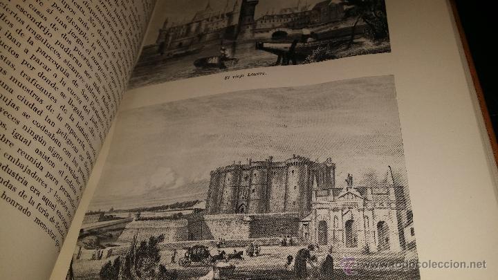 Libros de segunda mano: BIOGRAFIA DE PARIS,EDUARDO AUNOS,EDICION LUJO,ENCUADERNADA EN PIEL,AUTOGRAFIADA POR FERNANDO AUNOS - Foto 14 - 46947520