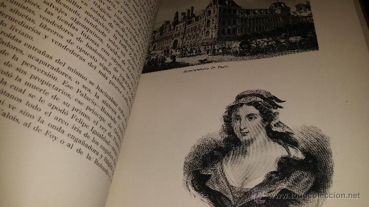 Libros de segunda mano: BIOGRAFIA DE PARIS,EDUARDO AUNOS,EDICION LUJO,ENCUADERNADA EN PIEL,AUTOGRAFIADA POR FERNANDO AUNOS - Foto 18 - 46947520